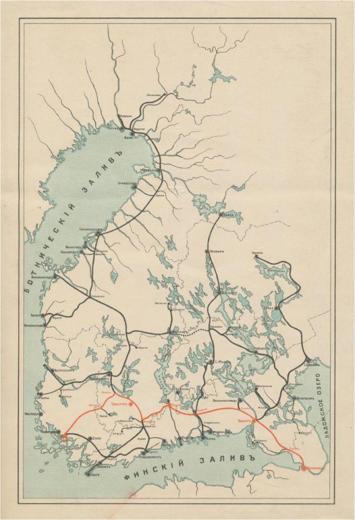 Tämän kuvan alt-attribuutti on tyhjä; Tiedoston nimi on Suomen-rataverkkokartta-1914_1916-699x1024.jpg